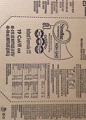 Similac Pro-Sensitive NON-GMO - Infant Formula 2oz (Case of 96)