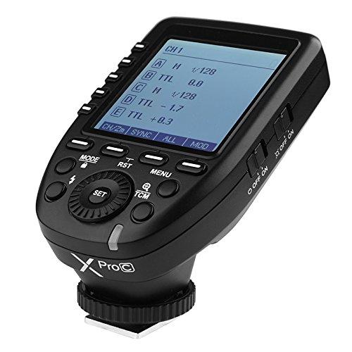 【一年保証& 技適マーク付属】GODOX Xpro-C送信機 TTL 2.4Gワイヤレスフラッシュトリガー 高速同期 1 / 8000s Xシステム Canon一眼レフカメラ対応