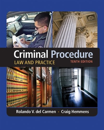 Criminal Procedure: Law and Practice cover