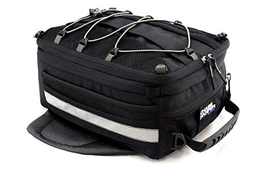 Chase Harper 800M Sport Trek Black Magnetic Tank Bag - 14.9 Liters (Bags Tank Red)