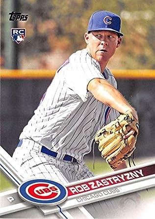 2017 Topps Series 2 478 Rob Zastryzny Chicago Cubs Rookie Baseball Card