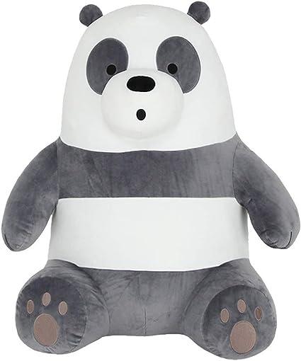 We Bare Bears Grizzly Ice Bear Panda Soft Plush Soft Stuffed Dolls Kids Toy Gift