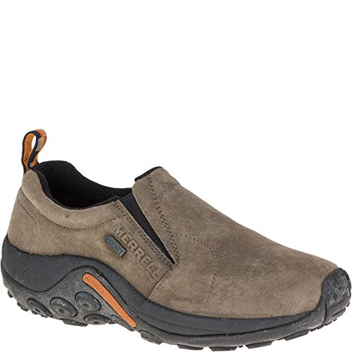 Merrell Women's Jungle Moc Waterproof Slip-On Shoe,Gunsmoke,7 M US
