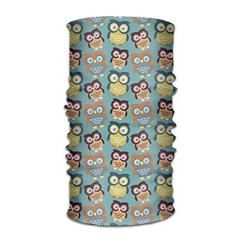 LingLake Unisex Cartoon Big Eys Owls Headwear Outdoor Magic Bandana As Neck Gaiter Head Wrap Headband Scarf Face Mask Ultra Soft Elastic Quick Dry - Eys Cat