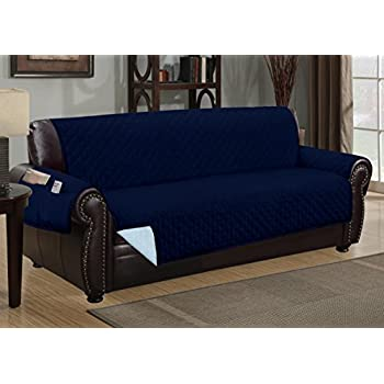 Amazon Com Navy Blue Quilted Micro Suede Pet Dog