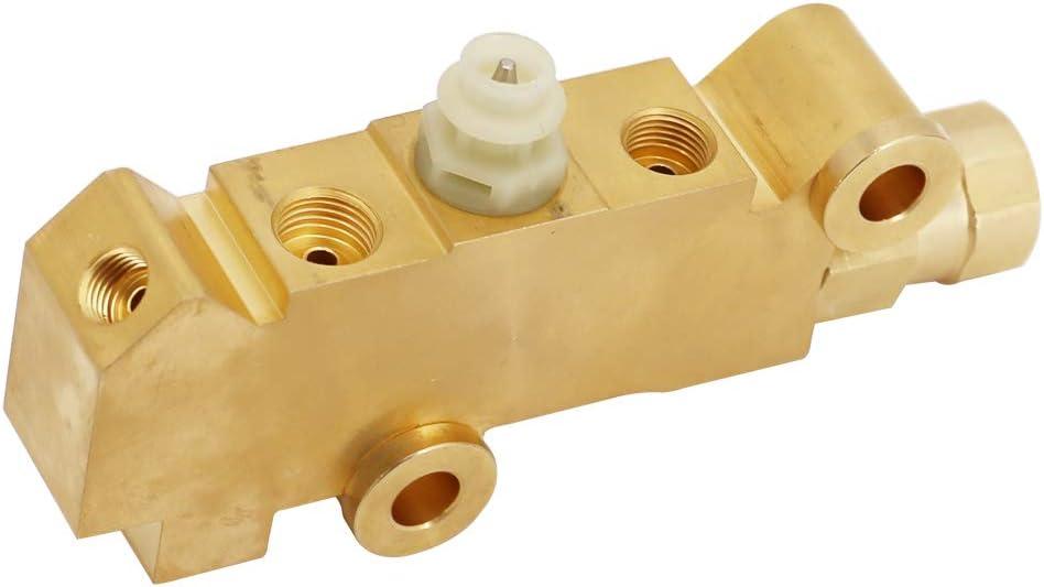 DIYAUTO PV4 Brass Disc//Disc Brake Proportioning Valve Universal Combination Valve 172-1361