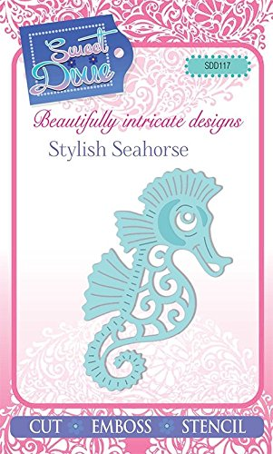 Sweet Dixie SDD117 Mini Craft Die Stylish Seahorse