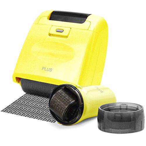 Guard Your ID Security Stamp Yellow Wide Roller 2 Piece Kit Blockout Address Cover Faster Alternative to Shredder