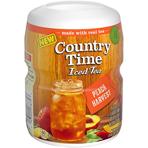 Country Time Tea, Peach Harvest, 19 Ounce (Pack of 12) - Harvest Peach