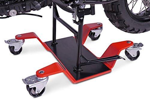 ConStands Mover II 400 kg Motorrad Rangierhilfe f/ür Honda Goldwing GL 1500 Rot Hauptst/änder Rangierwagen