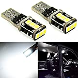 JDM ASTAR Extremely Bright PX Chips T10 168 194 175 2825 White LED Bulbs