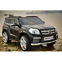 LICENSED MERCEDES BENZ gl63 AMG STYLE RIDE ON CAR FOR KIDS. BLACK (painted)