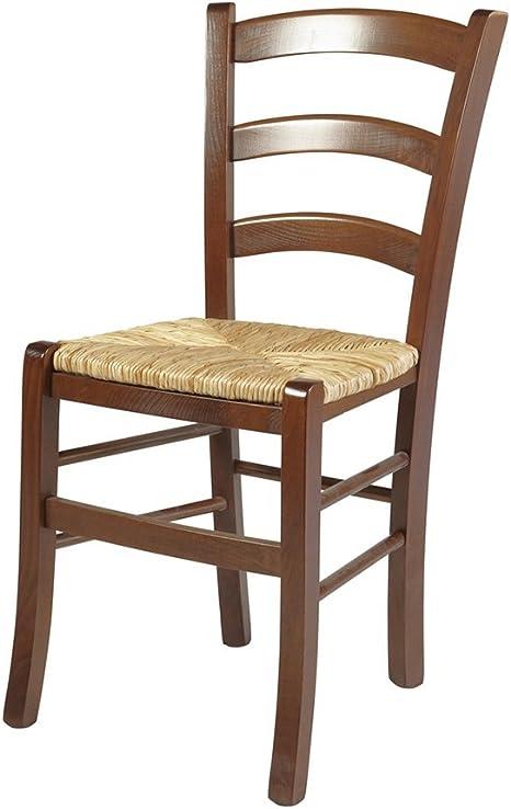 Venezia – Set di 2 sedie in Legno Massiccio e Seduta in