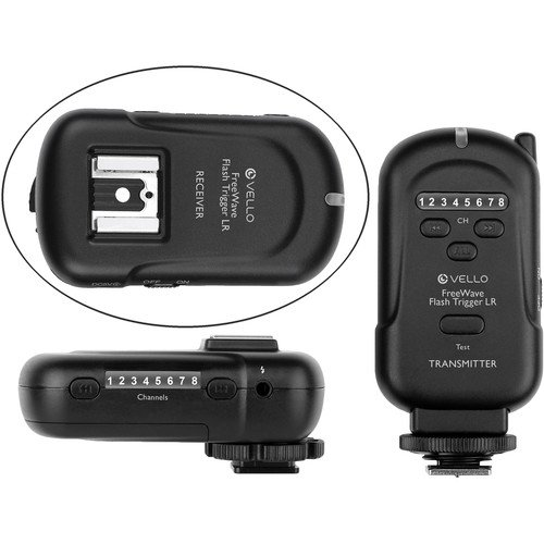 Vello FreeWave Wireless Flash Trigger LR and Receiver Kit