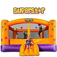 Blast Zone Superstar Fiesta Inflable Moonwalk por Blast Zone