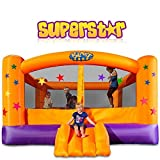 Blast Zone Superstar Inflatable Party Moonwalk by