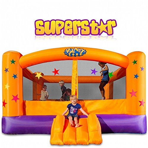 - Blast Zone Superstar Inflatable Party Moonwalk