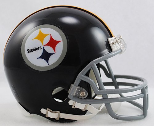 Steelers Helmet Pittsburgh Throwback (Pittsburgh Steelers 1963-76 Throwback NFL Riddell Replica Mini Helmet)