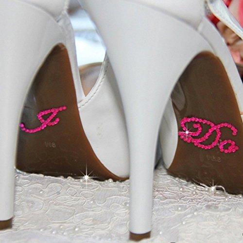 Amazon.com  Akak Store 3 Set 6 Pcs Mix Colors Wedding Rhinestone Shoe  Decals Stickers Applique -