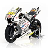 Yamaha YZR-M1 - Valentino Rossi - Moto GP 2010 Laguna Seca in 1:12 Scale By Minichamps