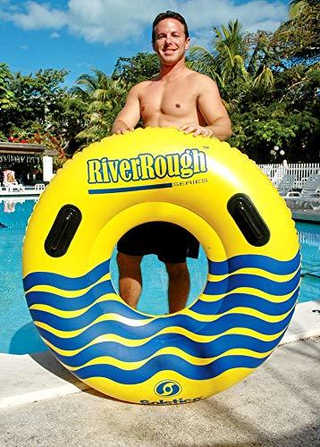 12 NEW Swimline 17035ST Swimming Pool River Rough 48'' Heavy Duty Floating Tubes