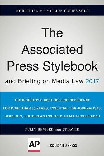 465093043 - The Associated Press Stylebook 2017