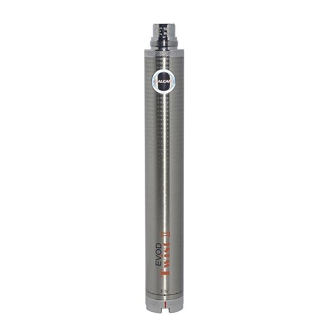 75 opinioni per Salcar EVOD Twist II batteria per sigaretta elettronica, 1600 mAh, 3,3 ~ 4,8V,