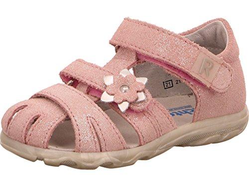 Chaussures silver Rose Babypink Fille Richter Marche Bébé silver babypink Terrino UqYSR
