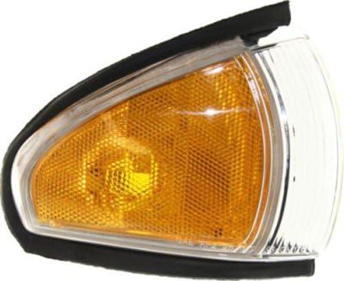 CPP Passenger Side DOT//SAE Corner Light for 96-99 Pontiac Bonneville FWD GM2551168