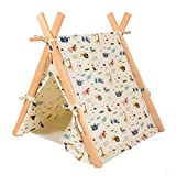 Pet Supplies Washable Durable Pet House Tent and Pet Bed Mat for Little Dogs and Cats