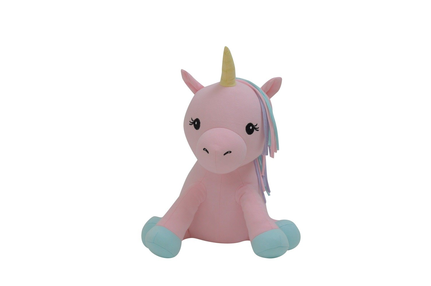 Elly Lu Rainbow The Unicorn - Organic Stuffed Animal (15 in) by Elly Lu