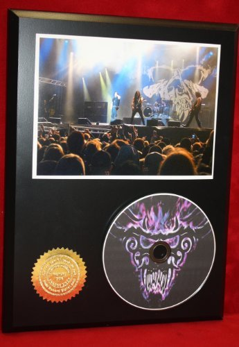 Danzig LTD Edition Picture Disc CD Rare Collectible Music Display Gold Record Outlet