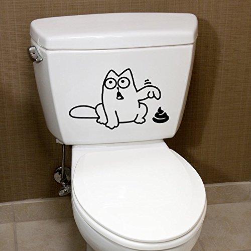 Toilettenaufkleber