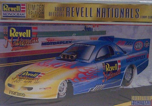 - Revell Monogram 4126 1997 Official Revell Nationals Funny Car - Limited Edition (1 of 7,500) - Plastic Model Kit - 1:24 Scale - Skill Level 3