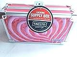 Vaultz Locking Supply Box, 5.5 x 8.25 x 2.5 Heart