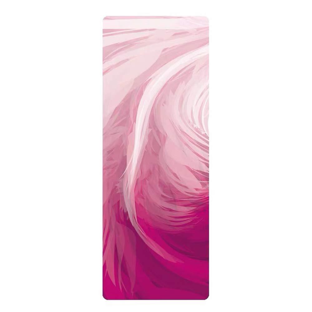 Amazon.com : SKDFFAS Yoga mats Natural Rubber Yoga Mat ...