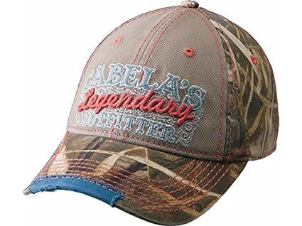 Amazon.com   CABELA S WOMEN S LEGENDARY CAMOUFLAGE CAP (Realtree Max ... dab2aa51ab1