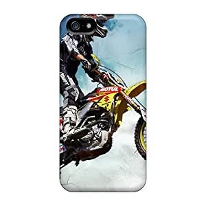 Premium Protection Motocross Cases Covers For Iphone 5/5s- Retail Packaging