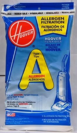 Type A RS w// Micro Kit 15 Vacuum Bags for Hoover Sprint Decade 80 Decade 800