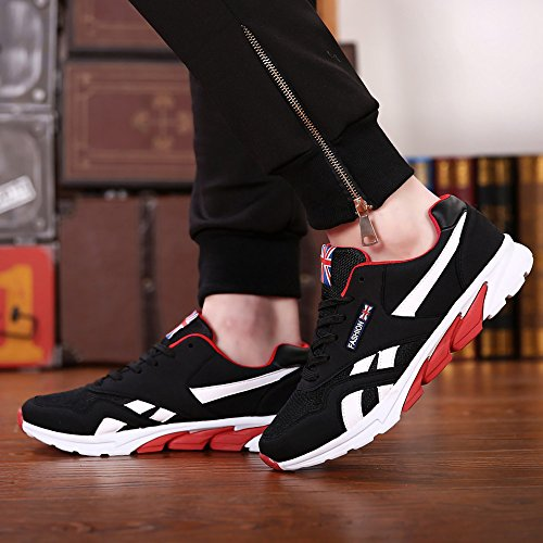 Breathable Men's JACKY'S Casual Spring Footwear Autumn Hombre 2 Zapatillas Flats Black Tt1A7qAwx