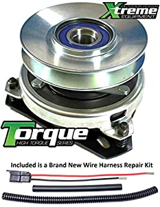 51LWU7VpZ3L._SY300_ amazon com bundle 2 items pto electric blade clutch, wire cub cadet pto clutch wire harness repair kit at cos-gaming.co