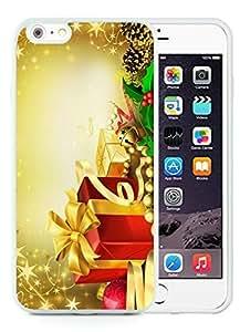 Fashion Style iPhone 6 Plus Case,Merry Christmas White iPhone 6 Plus 5.5 TPU Case 42
