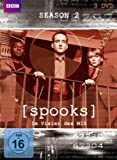 Spooks: Im Visier des MI5 - Season 2 [3 DVDs]