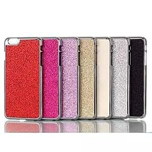 GX cajas del teléfono de la venta caliente del polvo del brillo chispeante brillante cubre para el iphone de apple 6 más (colores surtidos) , Pink
