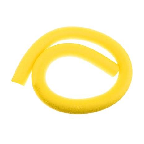 FLAMEER 1 Unid de Flotador Fideos de Piscina de Buceo de Juegos de Piscina para Adultos Multiusos - Amarillo: Amazon.es: Jardín