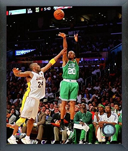 Ray Allen Boston Celtics NBA Finals Action Photo (Size: 12