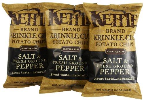 (Kettle Brand Salt & Fresh Ground Pepper, 8.5 oz, 3 pk)