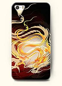 OOFIT Phone Case design with Golden Dragon for Apple iPhone 5 5s 5g by lolosakes by lolosakes
