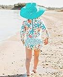 RuffleButts Baby/Toddler Girls Seaside Floral One