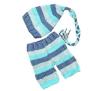 Yangge Yujum Transpirable elástico Azul de Punto de ...